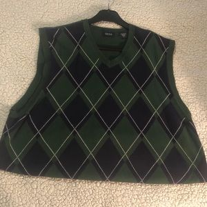 Izod Men's Vest Sweater